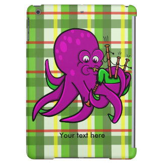 Funny Octopus Bagpipes Illustration Case For iPad Air