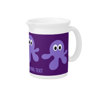 Funny Octopus custom pitcher