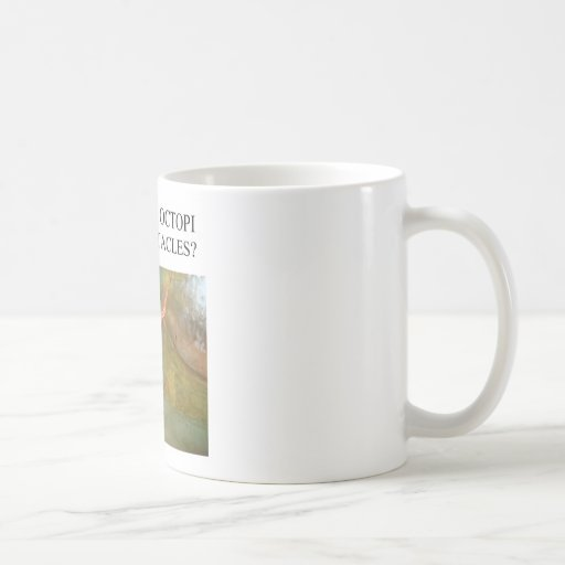 funny octopus joke classic white coffee mug