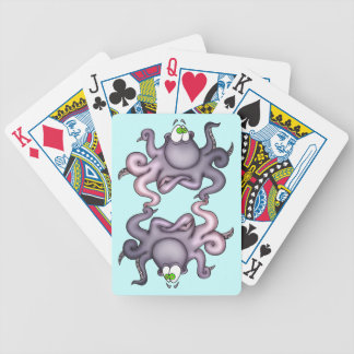 Funny Octopus Playing Cards