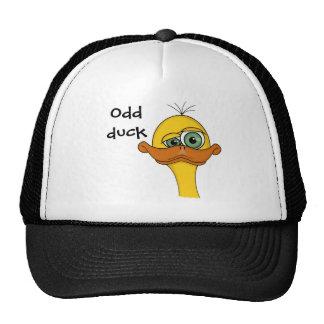 Funny Odd Duck Cartoon Mesh Hat