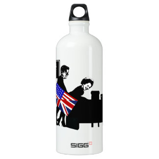 Funny,offensive Mrs Thatcher Water Bottle