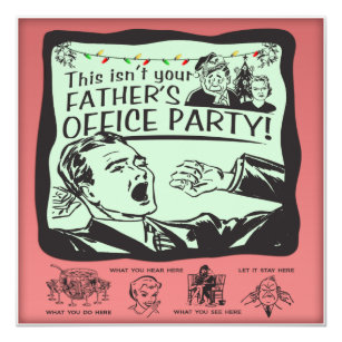 Humorous Office Holiday Invitations Zazzle