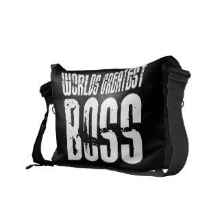 Funny Office Humor Bosses World s Greatest Boss Commuter Bags