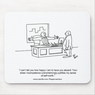 Funny Office Humor Mouse Pad Gift