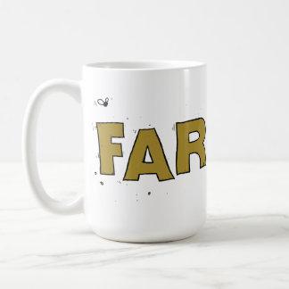 Funny office mug design - Farter! 444ml