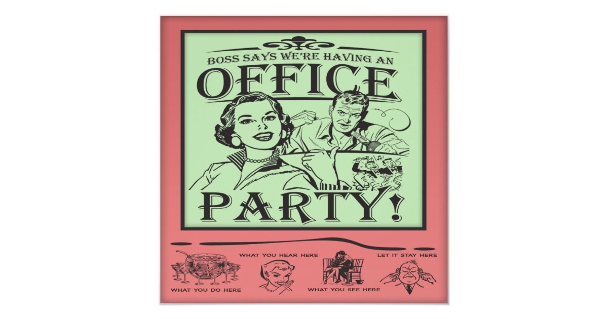 Funny Christmas Party Invitations & Announcements | Zazzle
