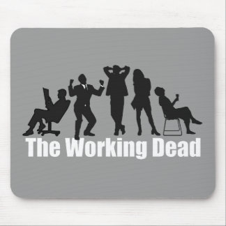 Funny office zombies: The Working Dead, Mouse Pad
