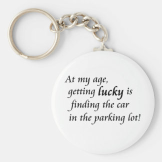 Funny old age humor unique keychains gift idea
