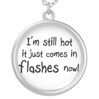 Funny old age humor unique necklace gift idea necklace