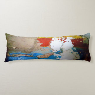 Funny old concrete wall photo body pillow