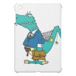 funny old dinosaur cartoon character iPad mini cases