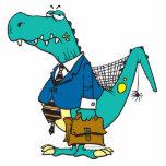 funny old dinosaur cartoon character photo cutouts