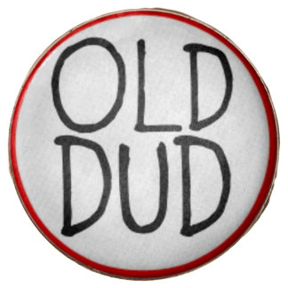 Funny Old Dud Cookie