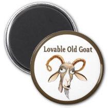 Funny Old Goat Magnet