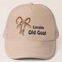 Funny Old Goat Trucker Hat