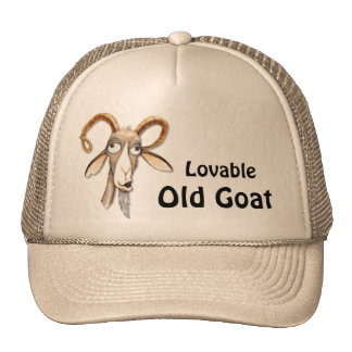 Funny Old Goat Trucker Hat