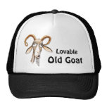 Funny Old Goat Trucker Hats