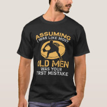 Funny Old Men Who Loves Rugby T-Shirt