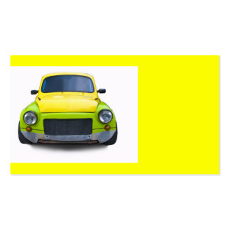 funny old modified car business card