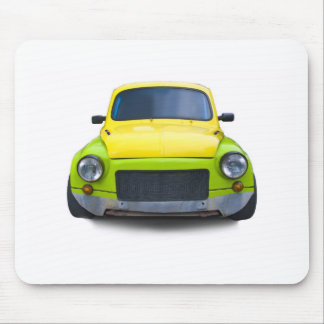 funny old modified car mouse pad