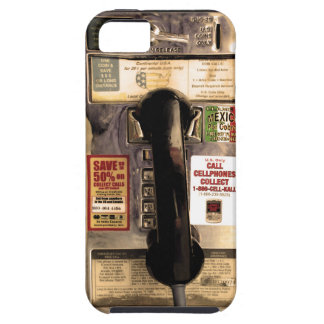 Funny Old Pay Phone iPhone SE/5/5s Case