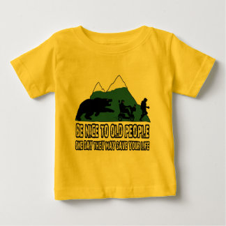 Funny old people baby T-Shirt