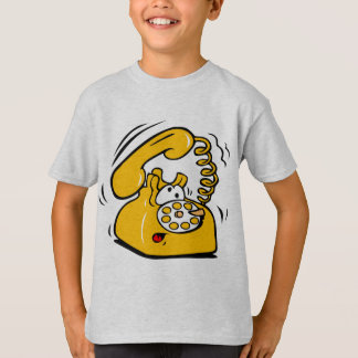 Funny Old School Telephone T-Shirt