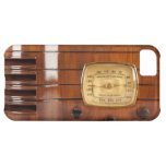Funny Old Time Radio photo design iPhone 5 Case For iPhone 5C