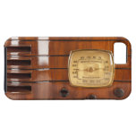 Funny Old Time Radio photo design iPhone 5 iPhone 5 Cases