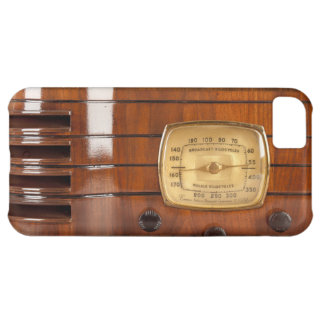 Funny Old Time Radio photo design iPhone 5 iPhone 5C Cover