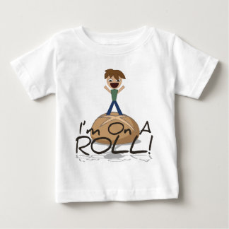 Funny On A Roll Baby T-Shirt
