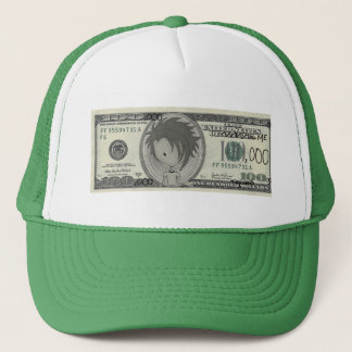 Funny One Hundred Thousand Dollar Bill Hat