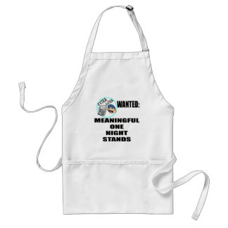 Funny One Night Stand T-shirts Gifts Adult Apron