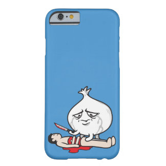 Funny Onion Crying, Cutting Human Barely There iPhone 6 Case