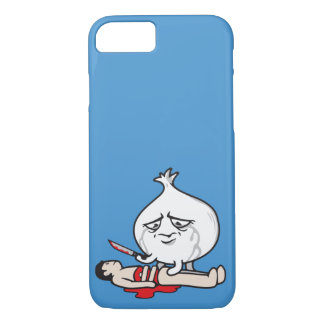 Funny Onion Crying, Cutting Human iPhone 7 Case