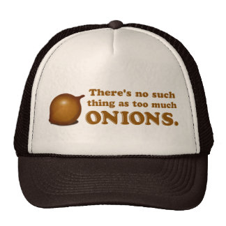 Funny Onions Hats