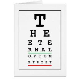 Funny Optician Card