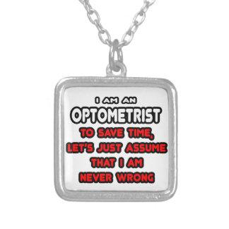 Funny Optometrist T-Shirts and Gifts Pendants