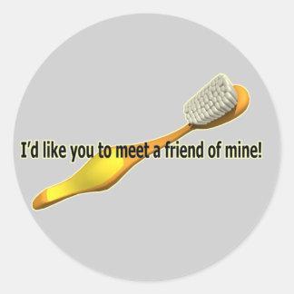 Funny Oral Hygiene Humor Stickers