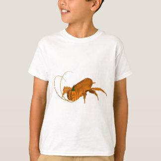 Funny Orange Cockroach With Pumpkin Head T-Shirt