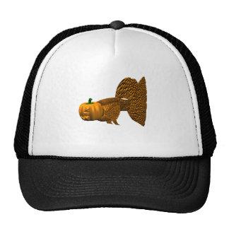 Funny Orange Guppy Mesh Hats