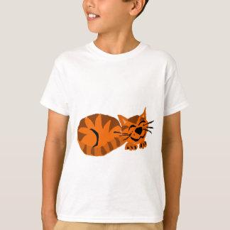 Funny Orange Tiger Cat T-Shirt