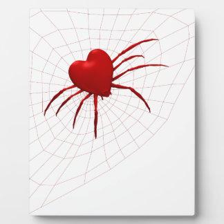 Funny Orb-Weaver Spider Plaque