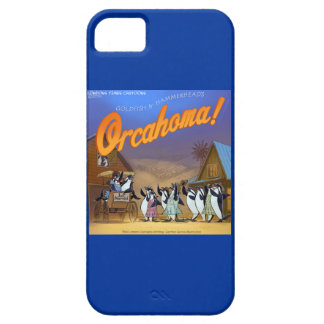 Funny Orca Whale Musical Theater iPhone5 Case