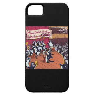 Funny Orca Whale Orchestra iPhone 5 Case