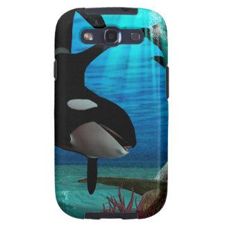 Funny orcas samsung galaxy SIII case