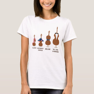 Funny Orchestra Strings Instruments T-Shirt