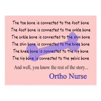 Funny Orthopedic Nurse Gifts Postcard