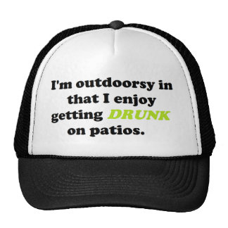 Funny Outdoor Drinking Products Trucker Hat